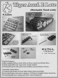 KAIZEN[Kz-Tg-L] 1/35 ティーガーI中期/後期型用可動履帯