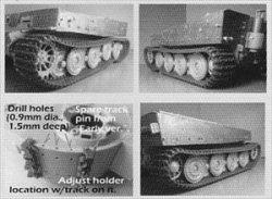 画像2: KAIZEN[Kz-Tg-L] 1/35 ティーガーI中期/後期型用可動履帯