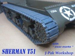 画像2: KAIZEN[Kz-SH-T51]1/35  M4 シャーマン T51 連結可動履帯