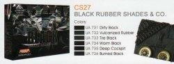 画像2: ライフカラー[CS-27]Black Rubber Shade&Co