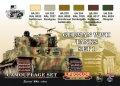 ライフカラー[CS-01]WWII ドイツ軍戦車カラーセット set1