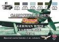 ライフカラー[CS-07]WWII ドイツ空軍機カラーセット set2