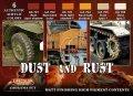 ライフカラー[CS-10]Dust&Rust 埃とサビ表現 ダイオラマセット
