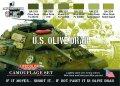 ライフカラー[CS-11]U.S オリーブドラブセット