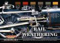 ライフカラー[CS-21]鉄道用ウェザリングセット