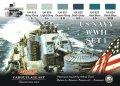 ライフカラー[CS-24]WWII 米海軍カラーセット