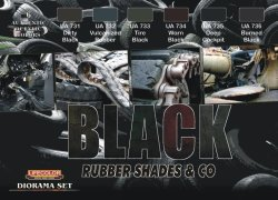 画像1: ライフカラー[CS-27]Black Rubber Shade&Co