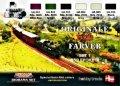 ライフカラー[XS-03]DANISH TRAINS COLOURS SET # 1