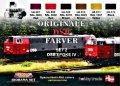 ライフカラー[XS-04]DANISH TRAINS COLOURS SET # 2