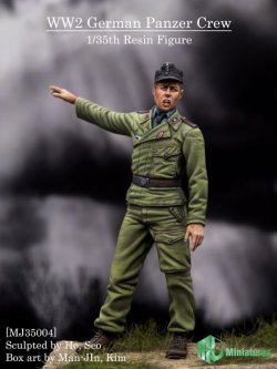 画像1: MJ Miniatures[MJ35004]1/35 WWII独 戦車兵
