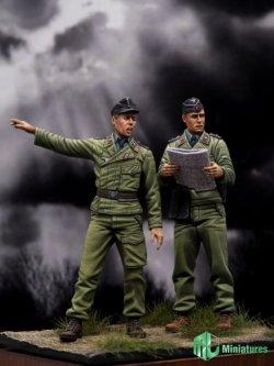 画像1: MJ Miniatures[MJ35006]1/35 WWII 戦車兵セット(2体セット)