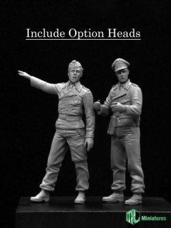 画像2: MJ Miniatures[MJ35006]1/35 WWII 戦車兵セット(2体セット)