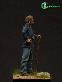 画像2: MJ Miniatures[MJ54001]1/32 米国南北戦争 北軍兵士
