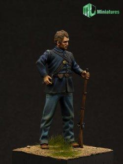 画像1: MJ Miniatures[MJ54001]1/32 米国南北戦争 北軍兵士