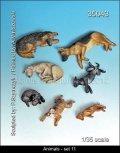 マンティス・ミニチュアズ[Man35043]動物セット 11 犬