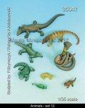 マンティス・ミニチュアズ[Man35047]動物セット 12 爬虫類