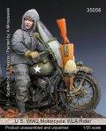 マンティス・ミニチュアズ[Man35056]1/35 WWII米 WLAバイク搭乗兵(ミニアート用)