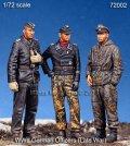 マンティス・ミニチュアズ[Man72002]1/72 WWII独 武装親衛隊戦車兵セット(3体セット)