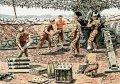 マスターボックス[MB3577]1/35 米・陸軍砲兵6体-砲撃シーンWW-II&ベトナム