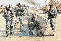 マスターボックス[MB3591]米・現用陸軍4体・中東拠点警備・フル装備