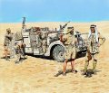 マスターボックス[MB3598]英・長距離挺身隊LDGデザートシボレー乗員北アフリカ5体