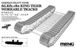 画像1: モンモデル[MENSPS-038]1/35 ドイツ重戦車 キングタイガー可動式履帯