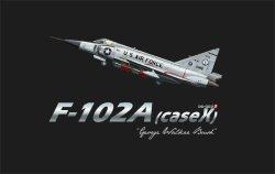 画像1: モンモデル[DS-003s]1/72 F-102A デルタダガー戦闘機(ケース X) ジョージ・W・ブッシュ機