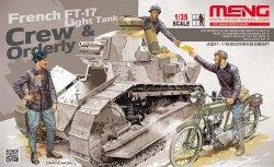 画像1: モンモデル[MENHS-005]1/35 フランス軽戦車FT-17乗員と通信兵セット