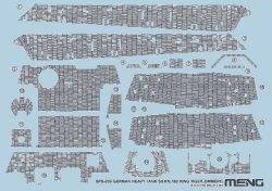 画像1: モンモデル[MENSPS-039]1/35 キングタイガーツィメリットデカール