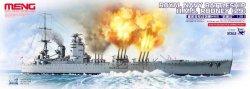 画像1: モンモデル[MENPS-001]1/700 イギリス海軍戦艦ロドネイ