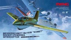 画像1: モンモデル[QS-001]1/32 メッサーシュミットMe163B  「コメット」ロケット迎撃戦闘機