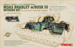 画像1: モンモデル[MENSPS-017]1/35 M3A3ブラッドレーBUSKIII騎兵戦闘車インテリアセット