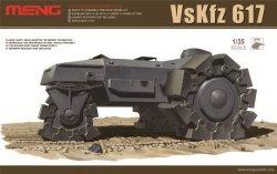 画像1: モンモデル[MENSS-001]1/35 VsKfz617 アルケット・ミーネンロイマー重地雷処理戦車