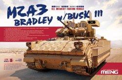 画像1: モンモデル[MENSS-004]1/35M2A3 ブラッドレー BUSK III 増加装甲付き