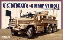 画像1: モンモデル[MENSS-005]1/35 アメリカクーガー6×6耐地雷・伏撃防護車