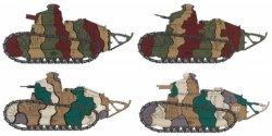 画像2: モンモデル[MENTS-008S]1/35 日本陸軍ルノー甲型戦車(日本限定品1000個)