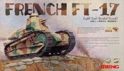 画像1: モンモデル[MENTS-011]1/35フランス軽戦車FT-17(リベット接合式砲塔)