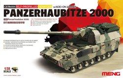 画像1: モンモデル[TS-019]1/35 ドイツPanzerhaubitze 2000自走榴弾砲増加装甲付き