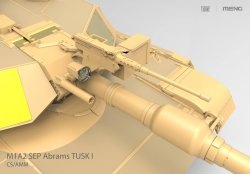 画像2: モンモデル[MENTS-026]1/35 アメリカ主力戦車 M1A2 SEP TUSK I/TUSK II
