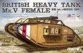 モンモデル[MENTS-029]1/35 イギリス重戦車Mk.V (雌型)