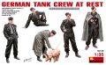 ミニアート[MA35198]1/35 休息中のドイツ戦車兵フィギュア5体&ブタ1匹