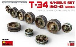 画像1: ミニアート[MA35239]1/35 T-34ホイールセット(1942〜43生産)