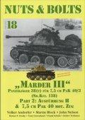 [Nuts-Bolt_Vol18] Marder III/7.5cm Pak40 Ausf.H &Towed7.5cm
