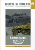 "[Nuts-Bolt_Vol21] Sd.Kfz.251/9 Kanonenwagen ""STUMMEL"" (改訂版)"
