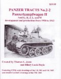[PANZER_TRACTS_2-2]Panzerkampfwagon II Ausf.G H J L  and M