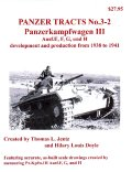 [PANZER_TRACTS_3-2]Panzerkampfwagon III Ausf.E F G  and H