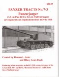 [PANZER_TRACTS_7-3]Panzerjaeger (7.5cm Pak 40/4 to 8.8cm Waffentraeger)