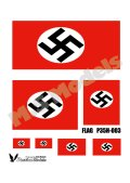 Passion Models[P35H-003]1/35 ドイツハーケンクロイツ旗(プラシート印刷)