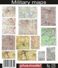 PlusModel[PM035]1/35WWII独 地図/書類/図表/マニュアル