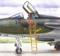 PlusModel[AL4039]1/48F-105B/C 乗降ラダー(インジェクションキット)